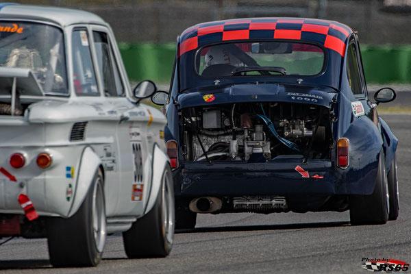 Kampf der Zwerge - Preis der Stadt Stuttgart 2018 - Abarth Coppa Mille  - Fiat Abarth 1000TC - Manfred Niederberger