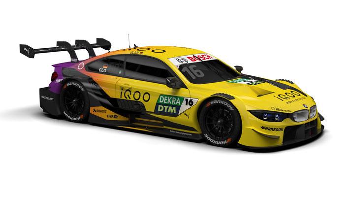 BMW M Motorsport, 2020 DTM Season, #16 iQOO BMW M4 DTM, BMW Works Driver Timo Glock (GER)