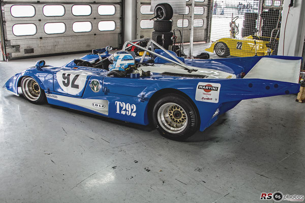 Lola T292 - Wolfgang König-Spohn - Canadian American Challenge Cup
