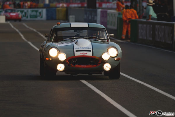 Jaguar Type E - Jaguar Classic Challenge - Le Mans Classic 2018