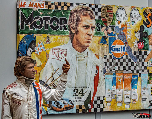 Steve McQueen - ROFGO Collection - Retro Classics Stuttgart 2020