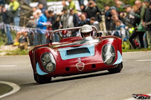 Alfa Romeo Tipo 33/2 - Rossfeldrennen 2018
