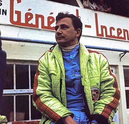 Hans Herrmann 1968 bei den 24 Stunden von Le Mans