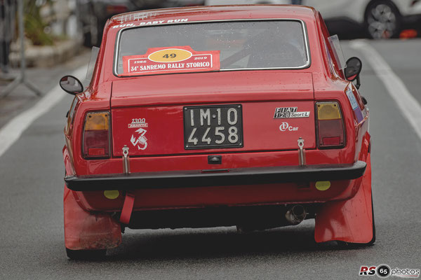 Fiat 128 Sport L - Sanremo Rallye Storico 2019