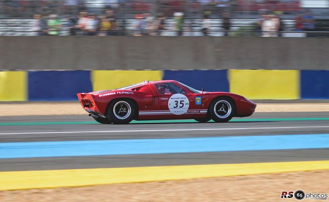 Ford GT40 - Le Mans Classic 2018
