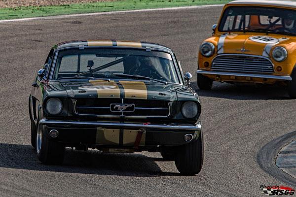 Ford Mustang - A Gentle Drivers Trophy - Preis der Stadt Stuttgart 2018 - Hockenheimring