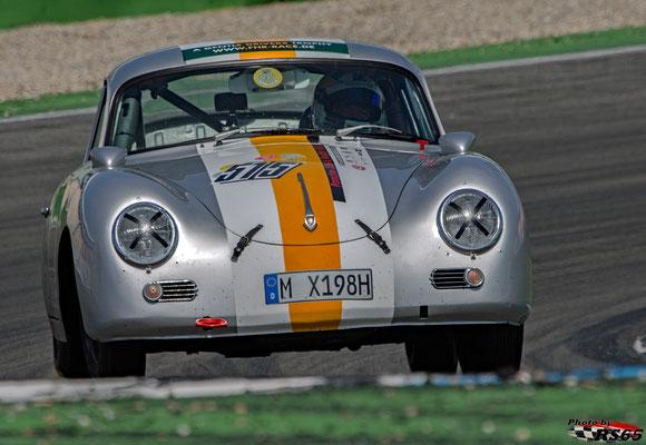 Porsche 356 A - A Gentle Drivers Trophy - Hockenheimring 2018 - Stefan Eckert