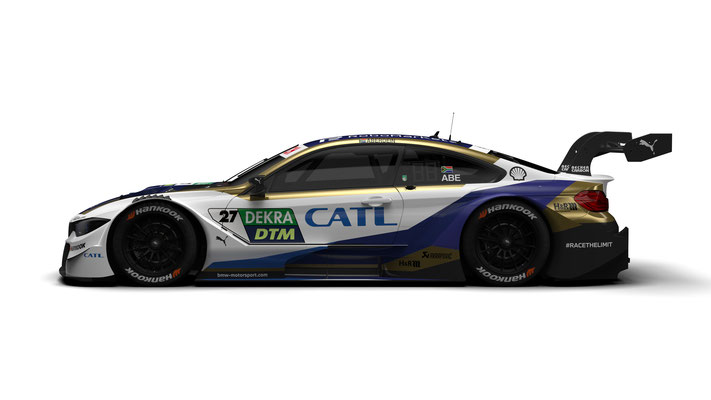 BMW M Motorsport, 2020 DTM Season, #27 CATL BMW M4 DTM, BMW Works Driver Jonathan Aberdein (RSA)