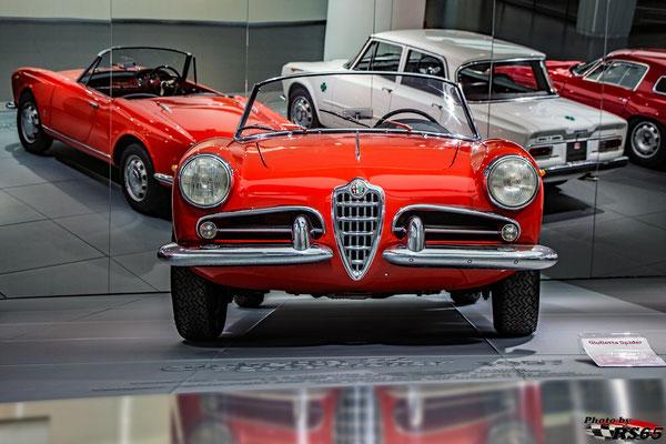 Alfa Romeo Giulietta SZ Coda Tronca - Alfa Romeo Museum