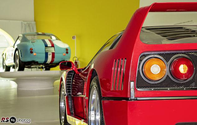 Ferrari F40 - Enzo Ferrari Museum Modena