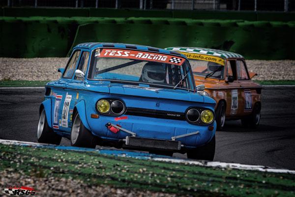 Kampf der Zwerge - Preis der Stadt Stuttgart 2018 - Hockenheimring - NSU TT - Frank Schmelter