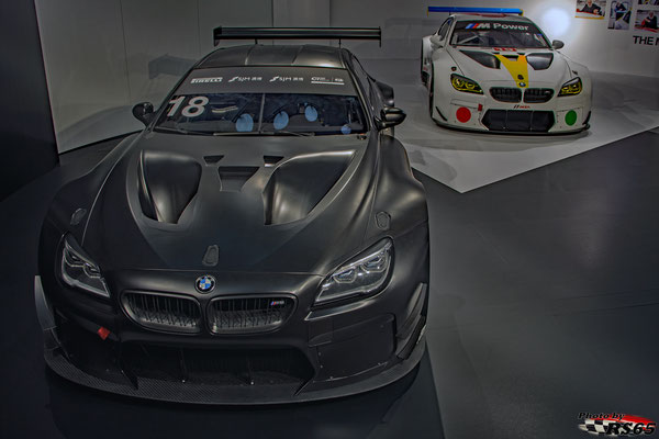 BMW M6 GT3 - John Baldessari - Art Car #19