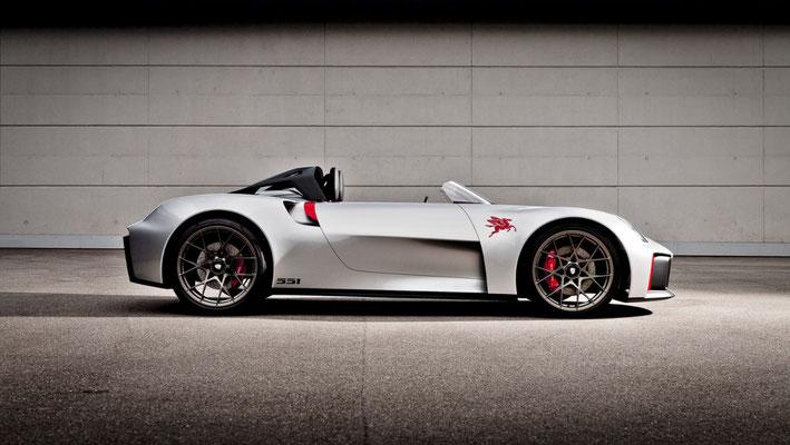 Porsche Vision Spyder (2019; Hartmodell im Maßstab 1:1), 2020, Porsche AG