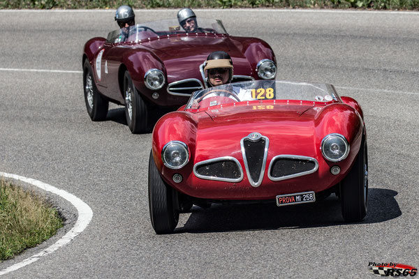 Alfa Romeo 1900 Barchetta - Solitude Revival 2019