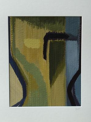 """Paare"" 40cm x 30cm, Acryl auf Pappe, 2013"