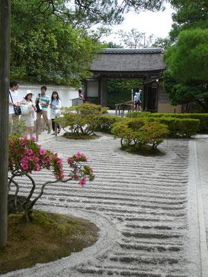Zen-Garten im Ginkaku-ji