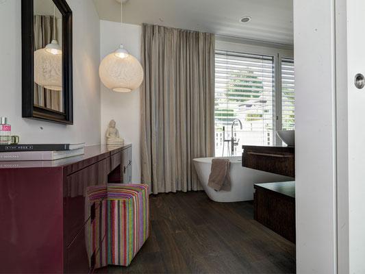 Badezimmer-Vorhang