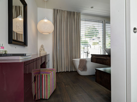Badezimmer-Vorhang Satin