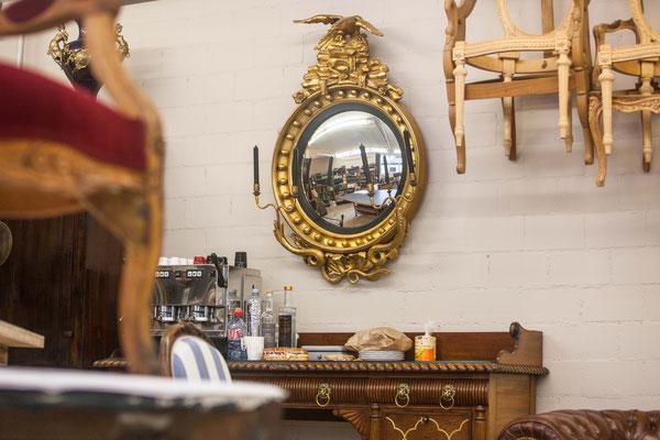 Original-Regency-Gilt-Convex-Mirror