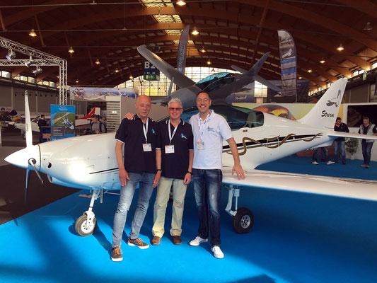 Wezel Flugzeugtechnik mit der Stream auf der AERO 2015