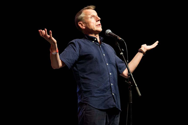 Jeremy Hardy at  'For The Many'  Gig-a celebration of Jeremy Corbyn's campaign