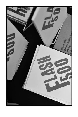 Launch of Flash 500 at the London Art Book Fair at the Whitechapel Gallery, 2015.