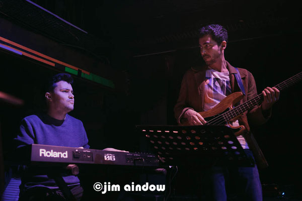 Dario Congedo drums & Liran Donin bass