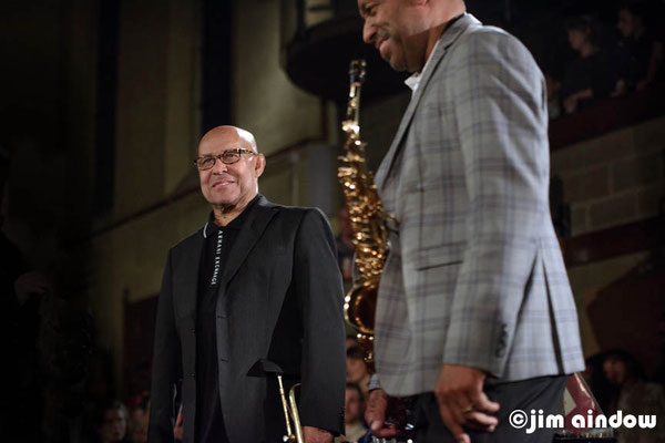 Eddie Henderson on trumpet & Donald Harrison on alto sax