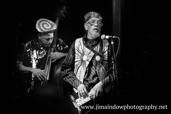 Marshall Allen on casio vl-tone & Kash Killion on bass