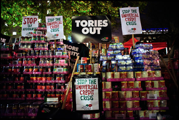 Sack The Tories, Budget Day Protest, Peoples Assembly Against Austerity, Downing Street, 21.11.17