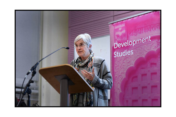 Professor Barbara Harriss-White speaking at Agrarian Questions Then And Now, SOAS, London 6.12.16