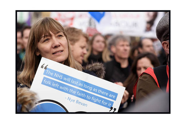 It's Our NHS National Demonstration, London. 4.3.17