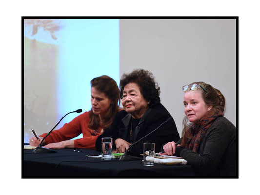 Setsuko Thurlow speaking at 'A Voice from Hiroshima', SOAS 21.3.17