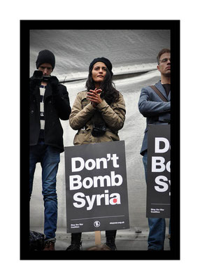 Don't Attack Syria, London, 28.11.15