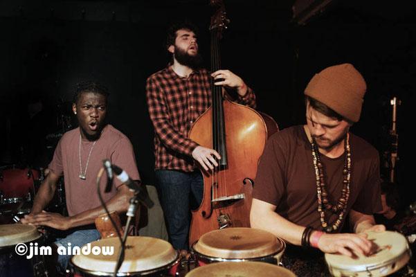 Yahael Camara-Onono, Twm Dylan & Tim Doyle with Maisha