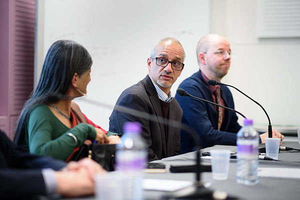Alfredo Saad Filho chairing Demolishing Neo-Liberal Development Myths, SOAS, London, 17.1.17