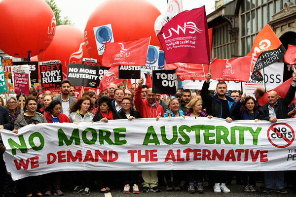 People's Assembly Demonstration Against Austerity, Take Back Manchester Festival, 1.10.17
