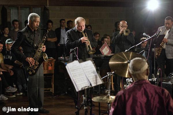 Billy Harper on tenor sax, David Weiss on trumpet, Eddie Henderson on trumpet