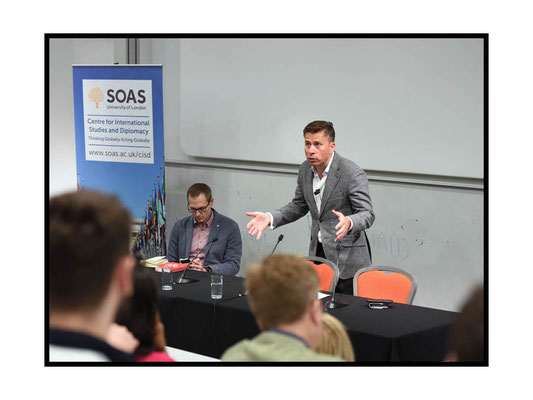 Tom Fletcher speaking at 'Surviving the 21st Century: How Can Diplomacy Respond to the Digital Age ? SOAS 22.3.17