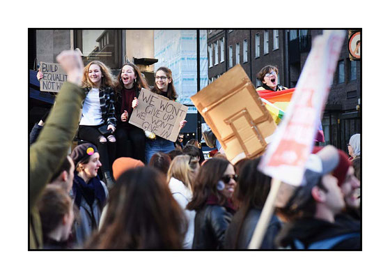Women's March London, 21.1.17