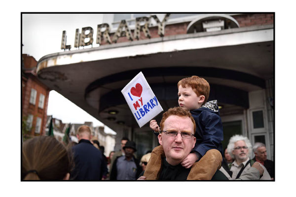 March For Libraries, Save Lewisham Libraries, 21.5.16