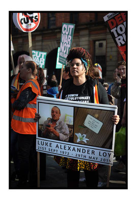 Anti-Austerity Demo at Tory Party Conference, Manchester, 4.10.15