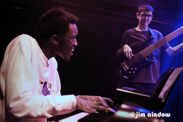 Lorenz Okello - keys, John Jones -bass