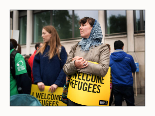 Refugees Welcome Demo, London 17.9.16