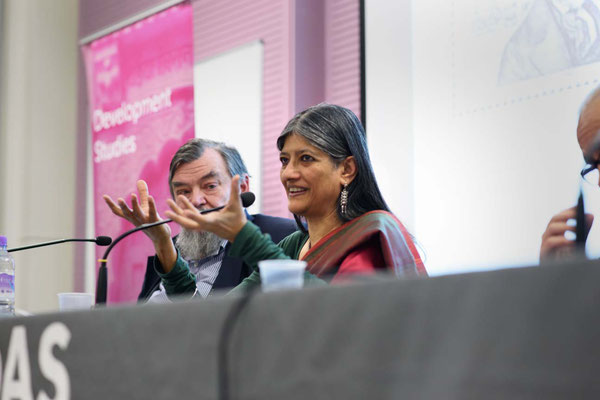 Professor Jayati Ghosh speaking at Demolishing Neo-Liberal Development Myths, SOAS, London, 17.1.17