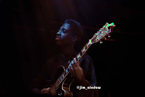 Shirley Tetteh, guitar for Maisha