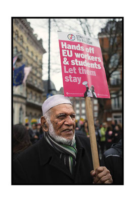 Stand Up To Racism Demo , London, 18.3.17