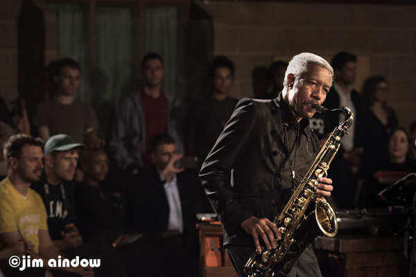 Billy Harper on tenor sax