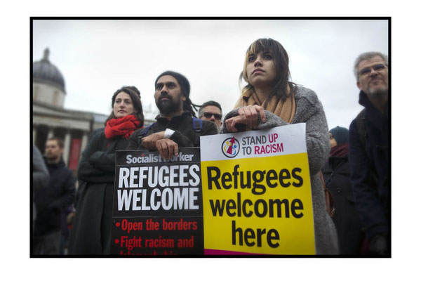Refugees Welcome Here, London, 19.3.16