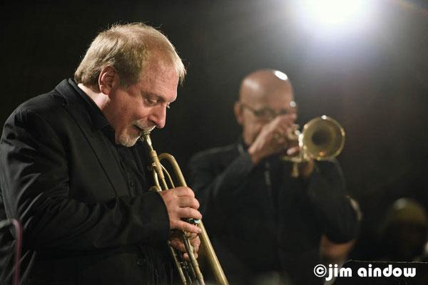 David Weiss & Eddie Henderson on trumpet